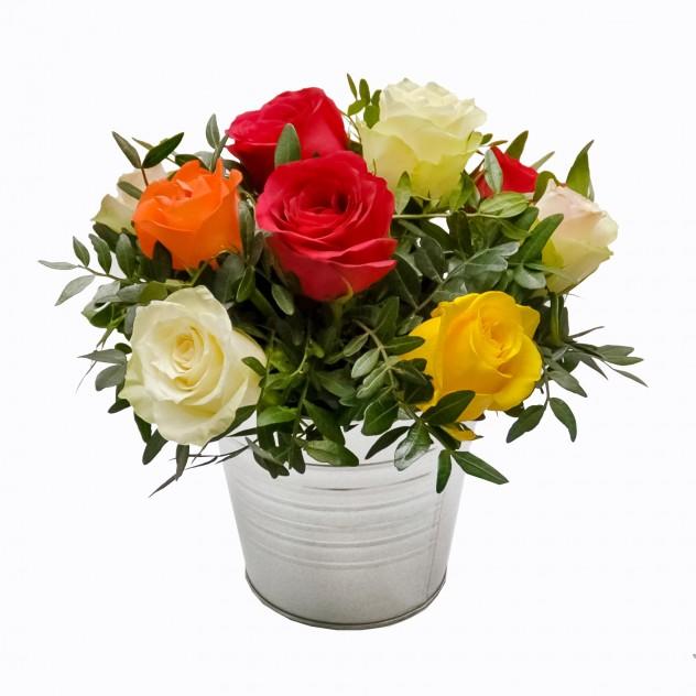 Композиция с розами